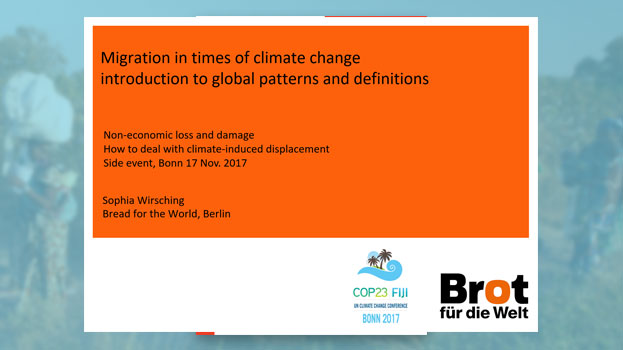 Migration in times of climate change introduction to global patterns and definitions