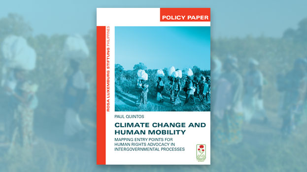 Cover of Policy Paper Climate Change and Human Mobility