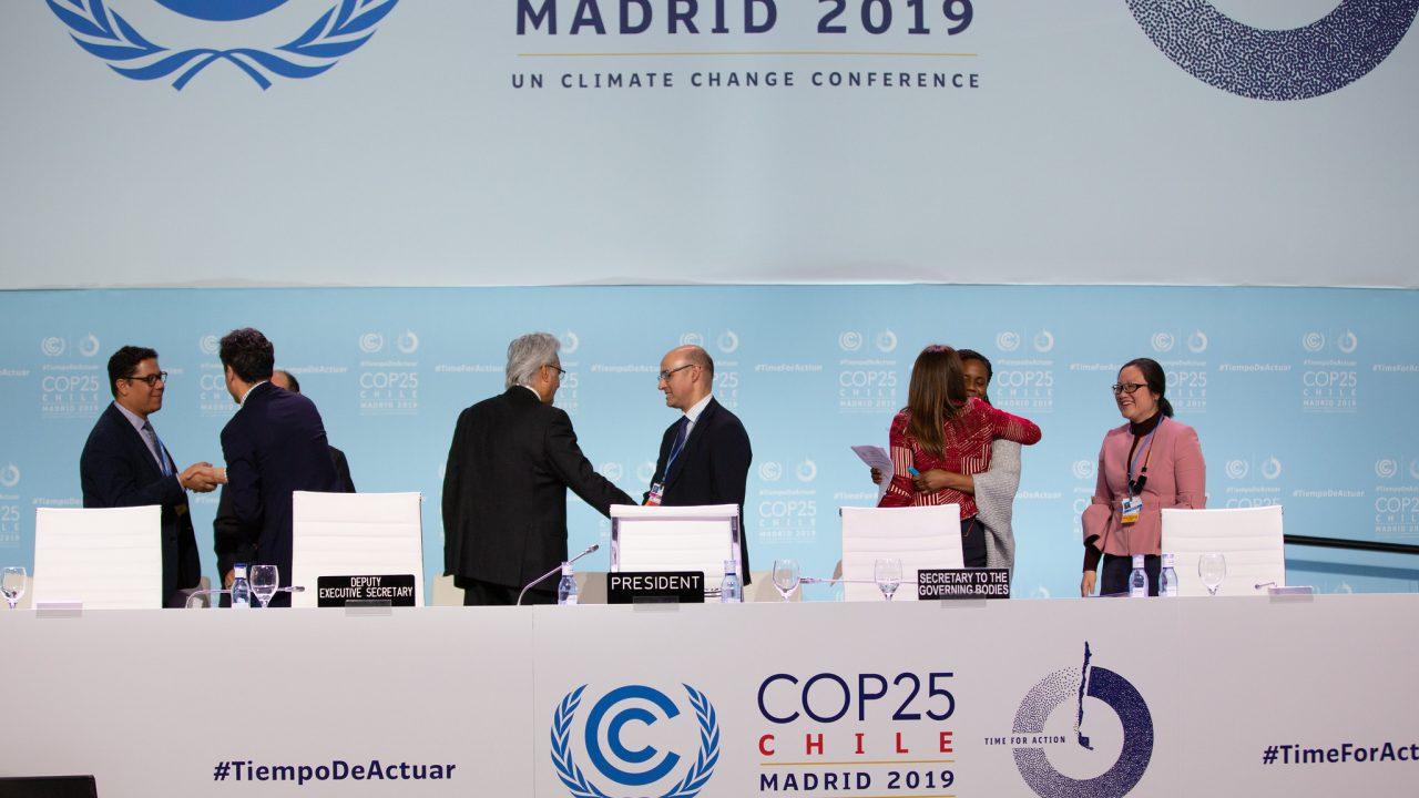 COP25 Closing Plenary. Sunday 15th 2019
